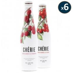 BOX FRUITEE CHERIE CERISE/FRAMBOISE 2*6 BOUTEILLES