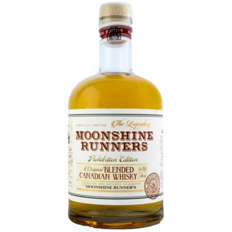 WHISKY CANADIAN MOONSHINE RUNNERS 70CL