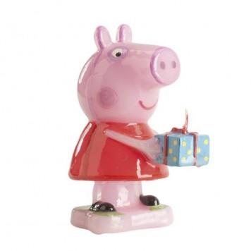 BOUGIE 8 CM PEPPA PIG