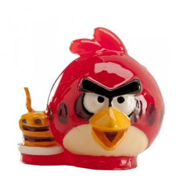 BOUGIE 5.5 CM ANGRY BIRDS