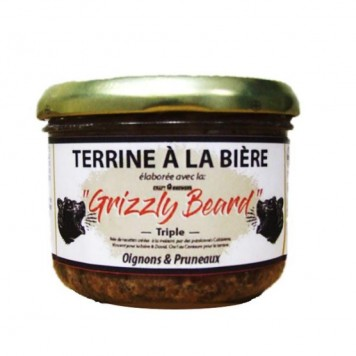 TERRINE GRIZZLY AUX...